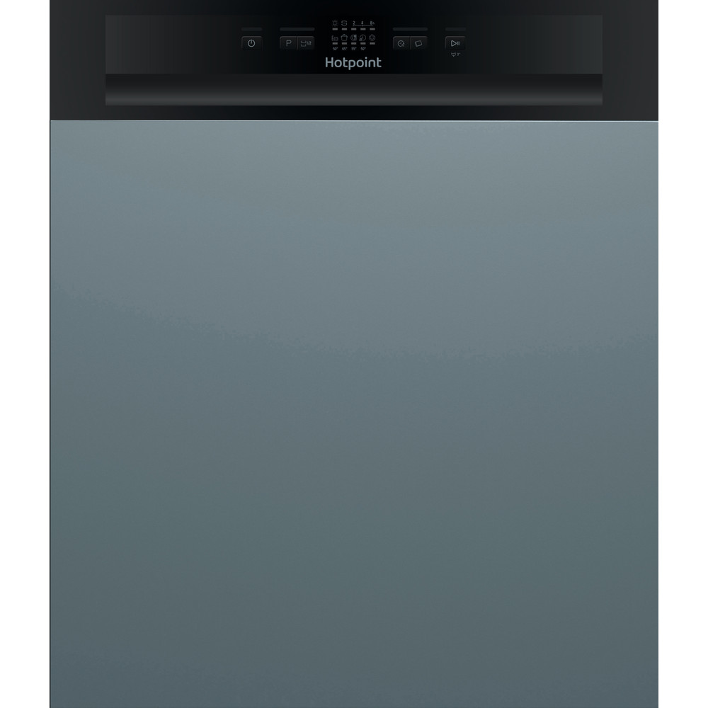Hotpoint Dishwasher Built-in HBC 2B19 UK N Half-integrated F Frontal