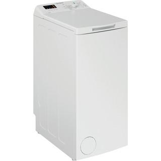 Indsit Maşină de spălat rufe Independent BTW S60300 EU/N Alb Încărcare Verticală A +++ Perspective