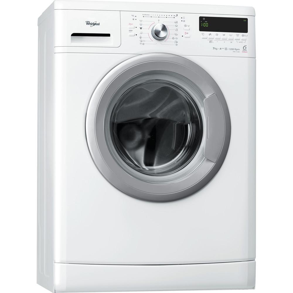 Whirlpool frontmatad tvättmaskin: 7 kg - AWSE 7140