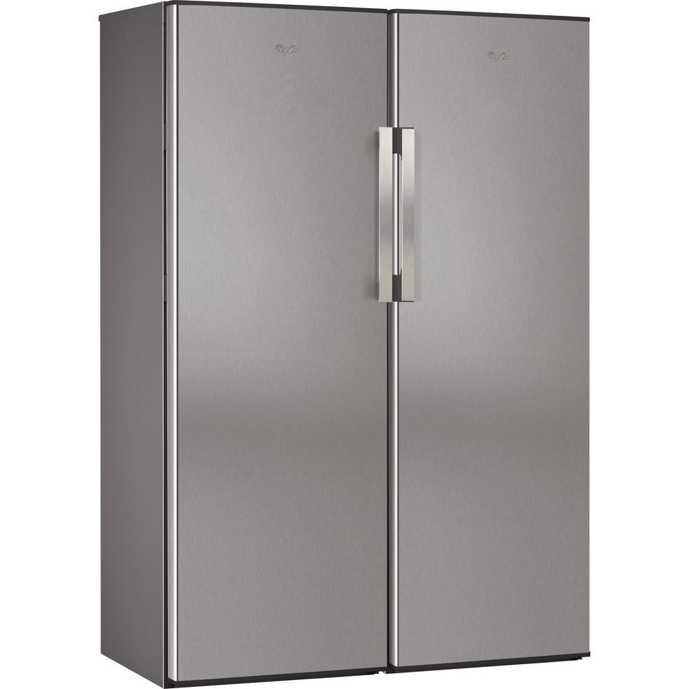 Congelador vertical de libre instalación Whirlpool: color inox - WVE1883 NF IX