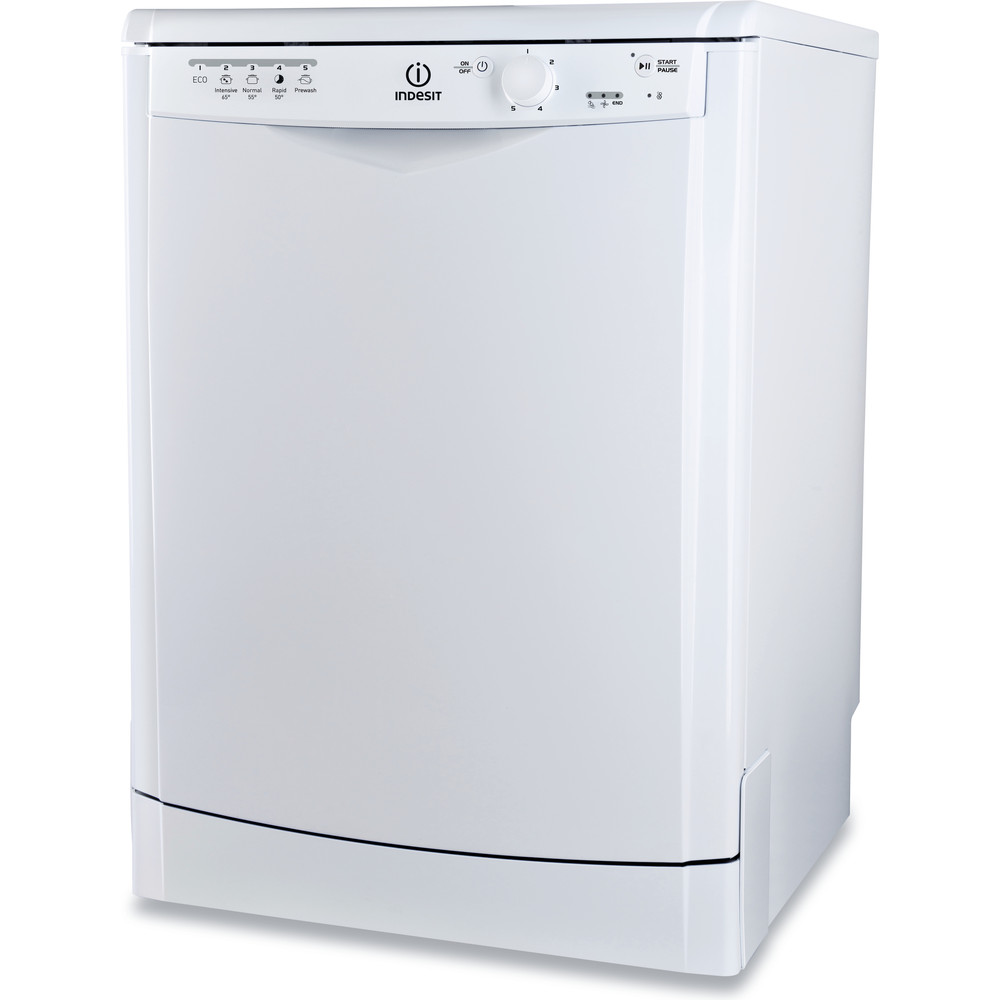 Indesit Dishwasher Free-standing DFG 15B1 UK Free-standing A Perspective