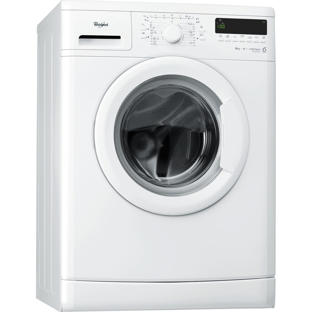 Whirlpool frontmatad tvättmaskin: 6 kg - AWO/D 6002