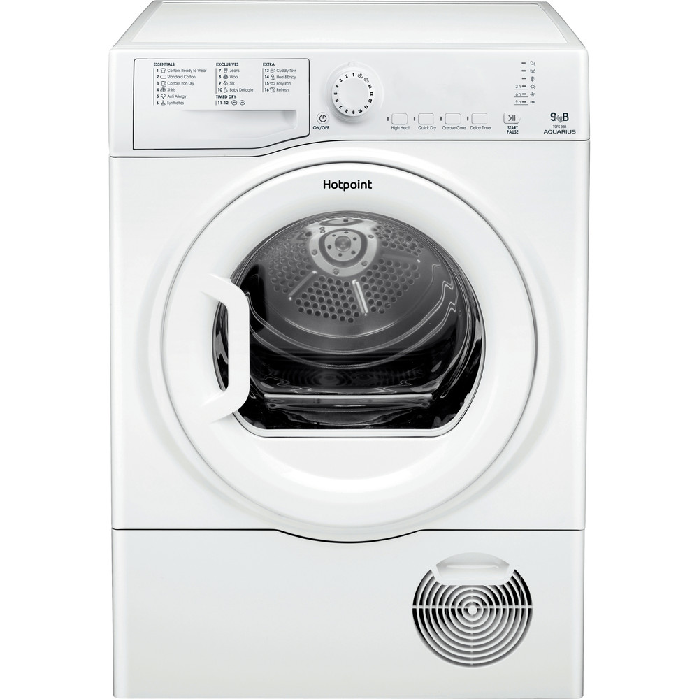 Hotpoint Dryer TCFS 93B GP.9 (UK) White Frontal