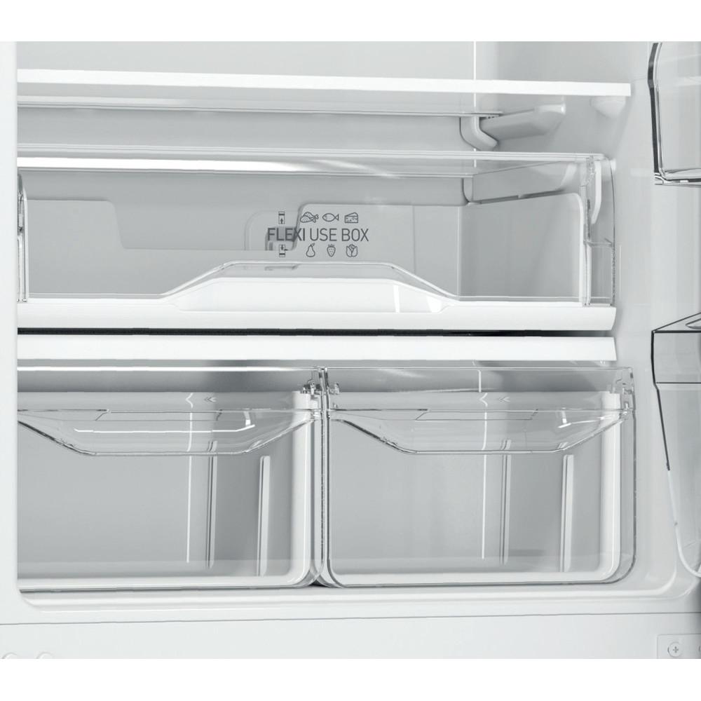 Indesit Холодильник с морозильной камерой Отдельностоящий DF 5181 X M Inox 2 doors Drawer