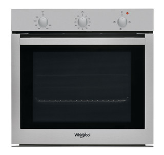 Whirlpool built in gas oven: inox color - OSA NG3F IX