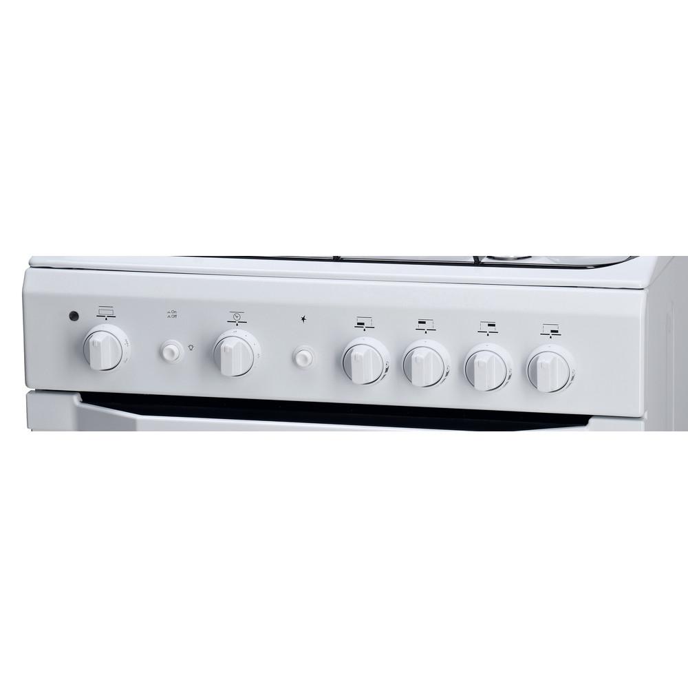 Indesit Cucina con forno a doppia cavità I6GG1F(W)/I Bianco Control_Panel