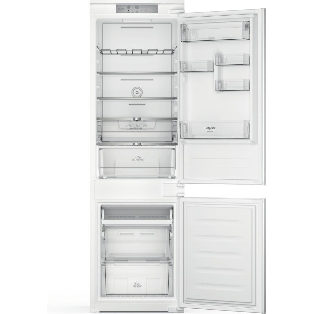 Hotpoint_Ariston Combinazione Frigorifero/Congelatore Da incasso HAC18 T542 Bianco 2 porte Frontal open