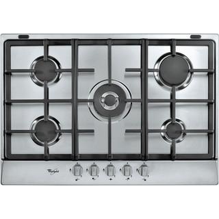 Taque de cuisson au gaz AKR 3580/IX Whirlpool - Encastrable - 5 brûleurs gaz