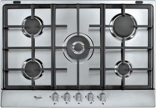 Whirlpool gas hob: 5 gas burners - AKR 358/IX