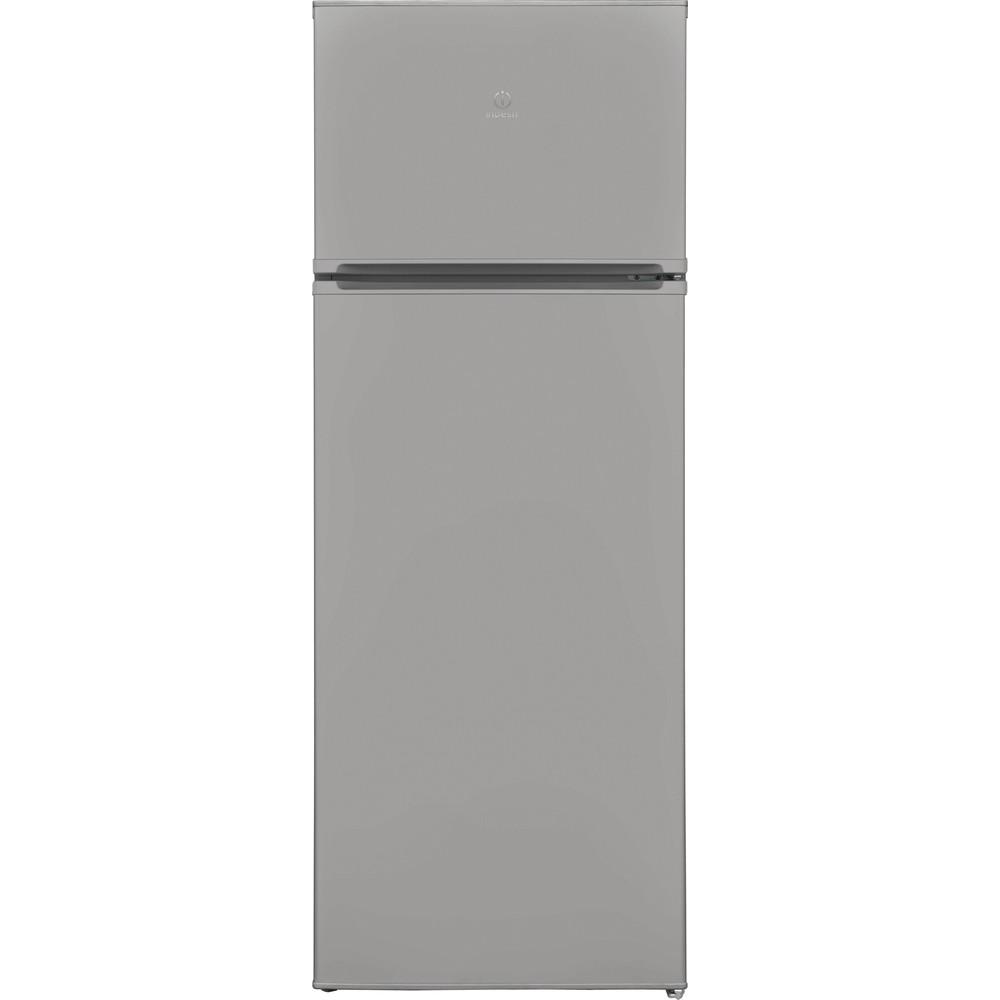 Indesit Combiné réfrigérateur congélateur Pose-libre I55TM 4110 S 1 Argent 2 portes Frontal