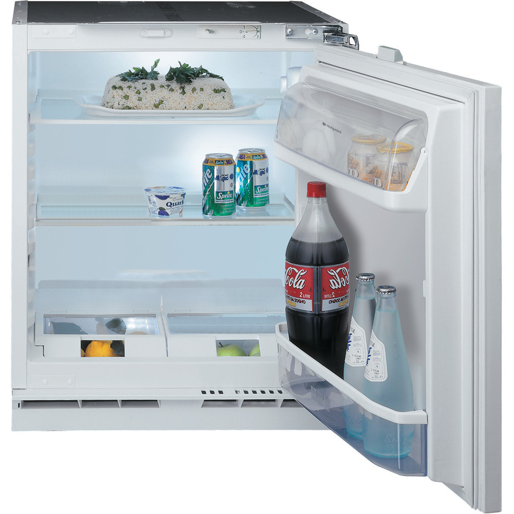 Hotpoint Refrigerator Built-in HL A1.UK Steel Frontal_Open
