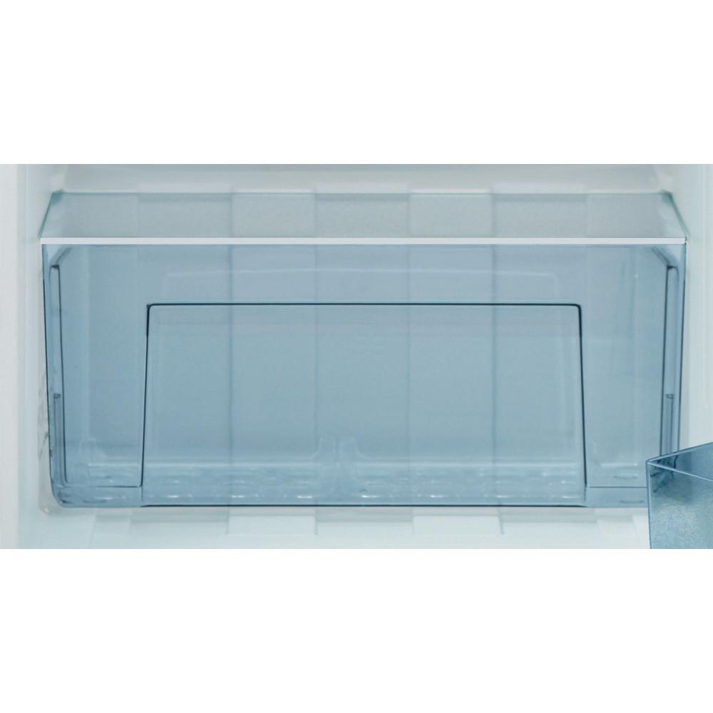Indesit Refrigerator Free-standing I55RM 1110 W 1 White Drawer