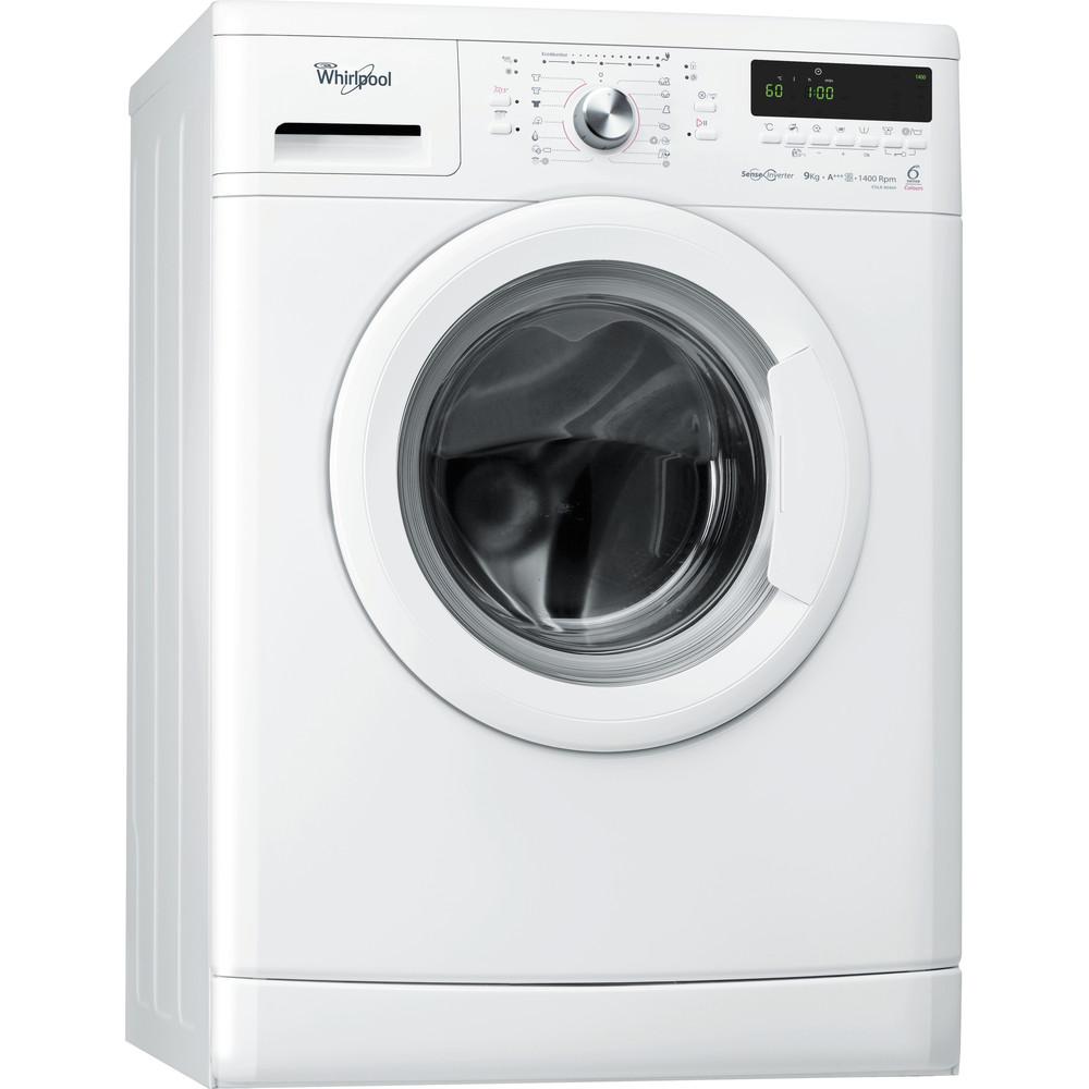 Whirlpool frontmatad tvättmaskin: 9 kg - FDLR 90469