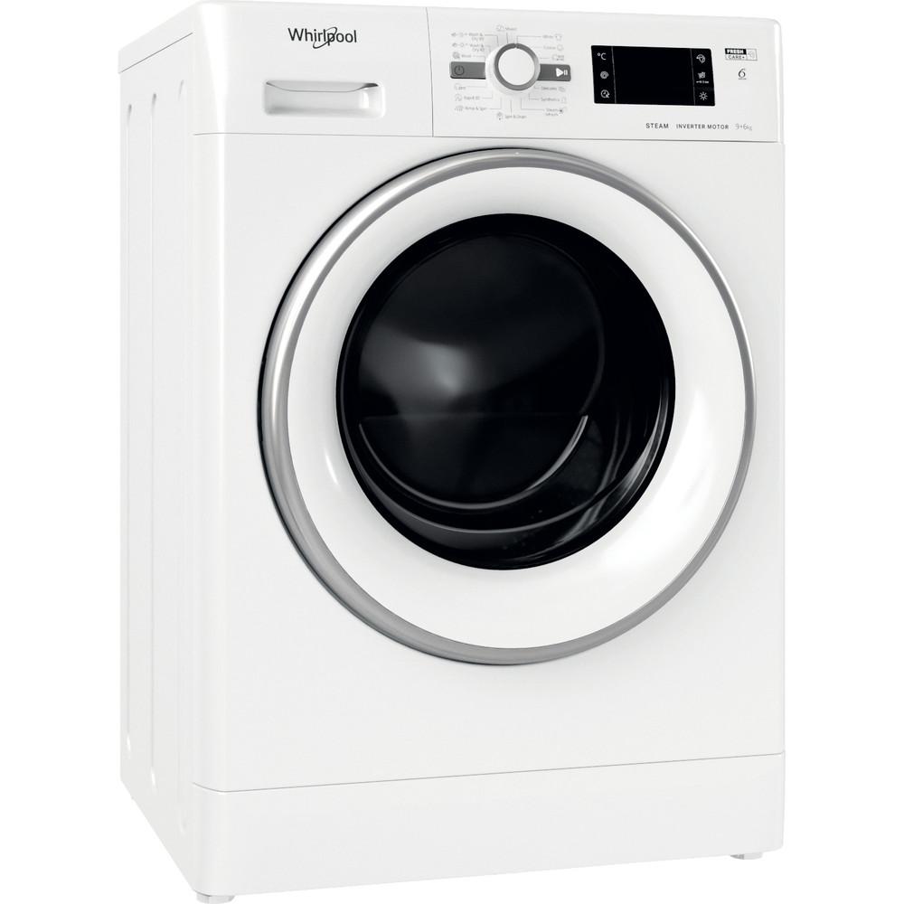 Whirlpool vrijstaande was/droogcombinatie: 9 kg - FWDG 961483 WSV EE N