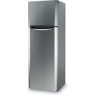 Indesit Комбиниран хладилник с камера Свободностоящи TIAA 12 X.1 Инокс 2 врати Perspective
