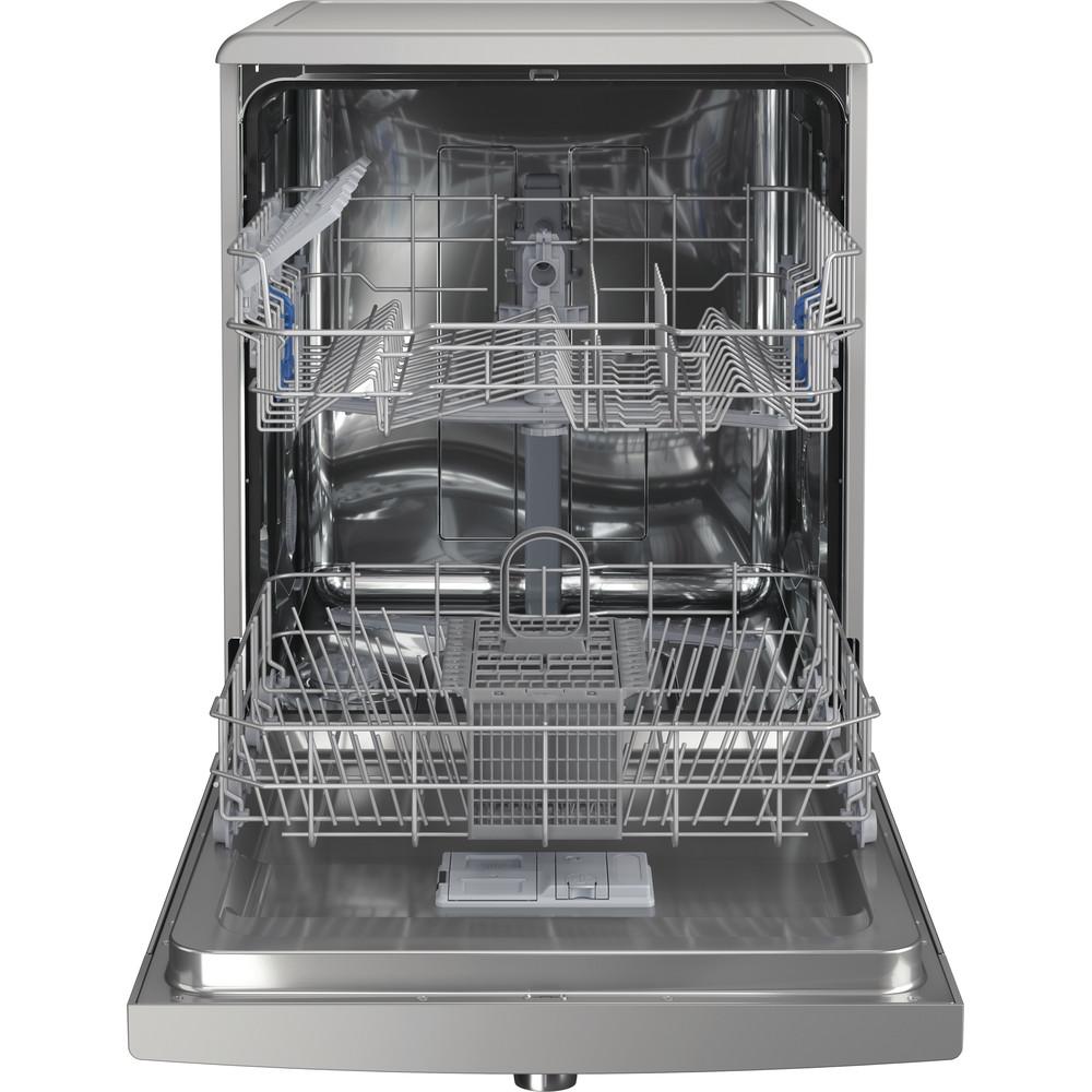 Indesit Dishwasher Free-standing DFE 1B19 X UK Free-standing F Frontal open