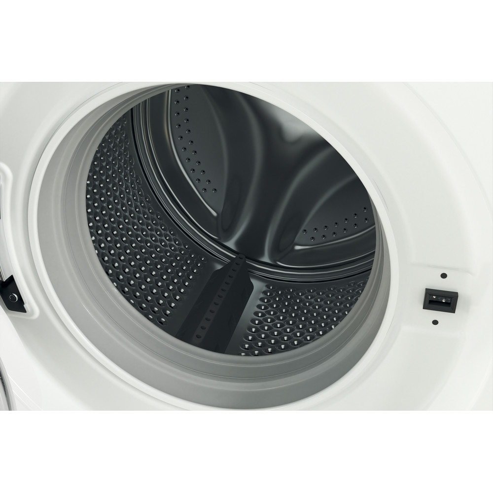 Indsit Maşină de spălat rufe Independent MTWE 91483 WK EE Alb Încărcare frontală D Drum
