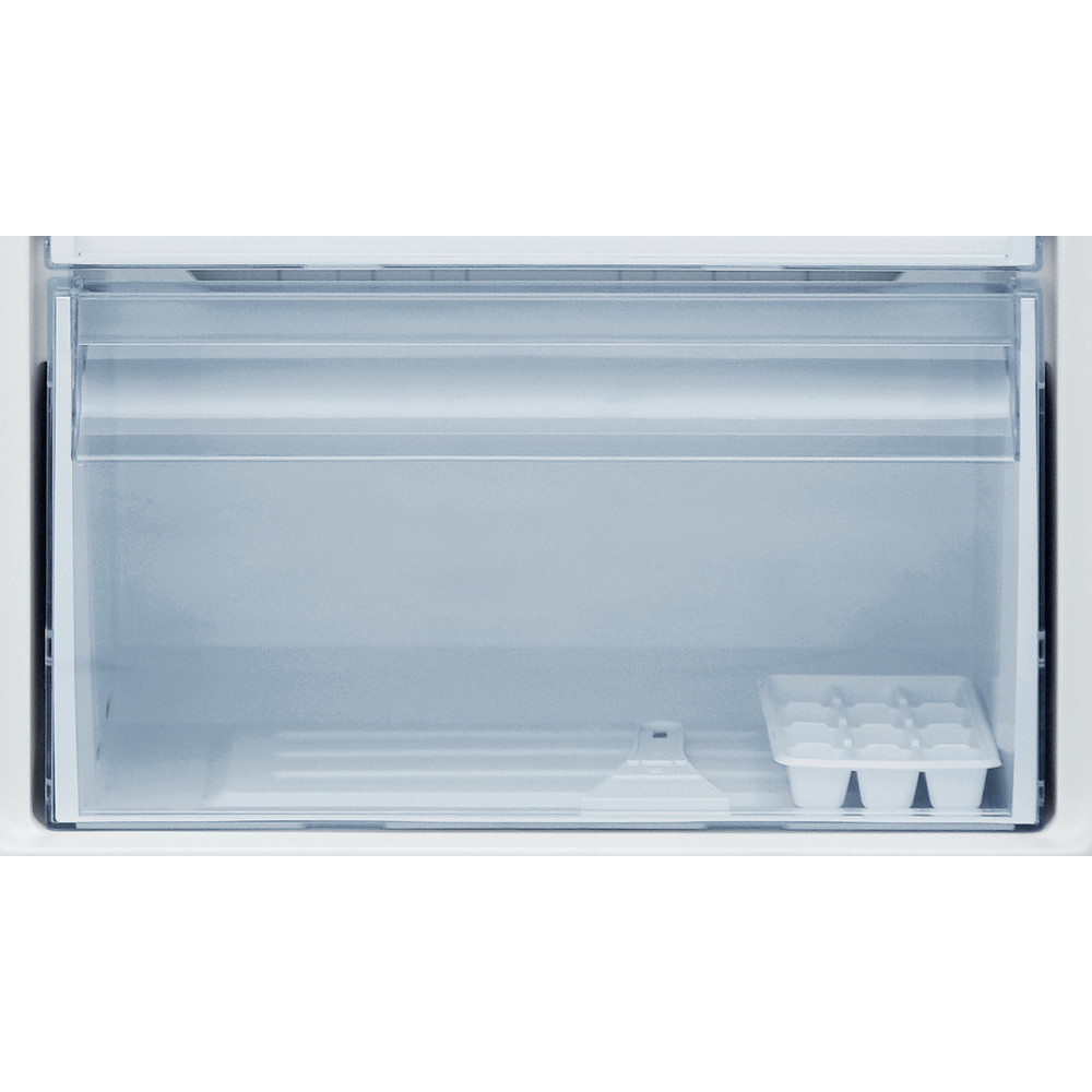 Indesit Freezer Free-standing I55ZM 1110 S 1 Silver Drawer