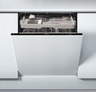 Integreret Whirlpool-opvaskemaskine: sort farve, fuld størrelse - ADG 8798 A+ PC TR FD