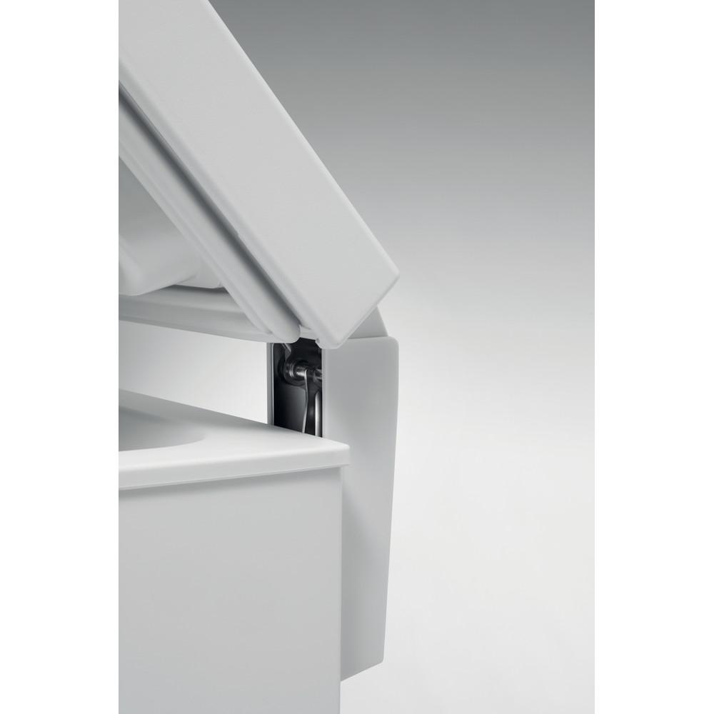 Indesit Freezer Free-standing OS 1A 100 2 UK 2 White Lifestyle detail