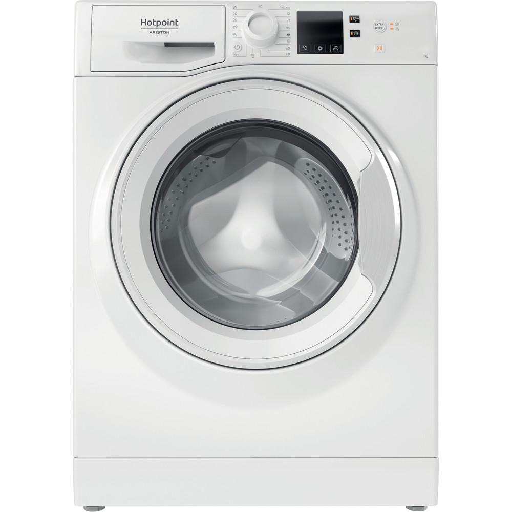 Hotpoint_Ariston Maşină de spălat rufe Neincorporabil NS702U W EU N Alb Încărcare frontală E Frontal