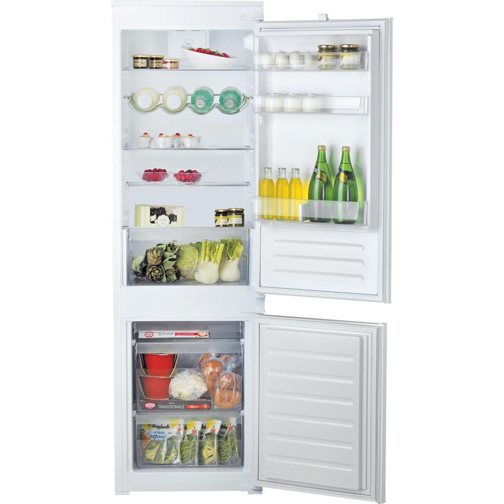 Hotpoint_Ariston Combinazione Frigorifero/Congelatore Da incasso BCB 7030 D2 Bianco 2 porte Frontal open