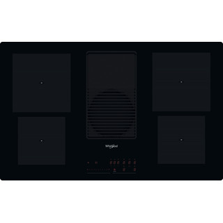 Whirlpool Venting cooktop WVH 92 K F KIT Black Frontal