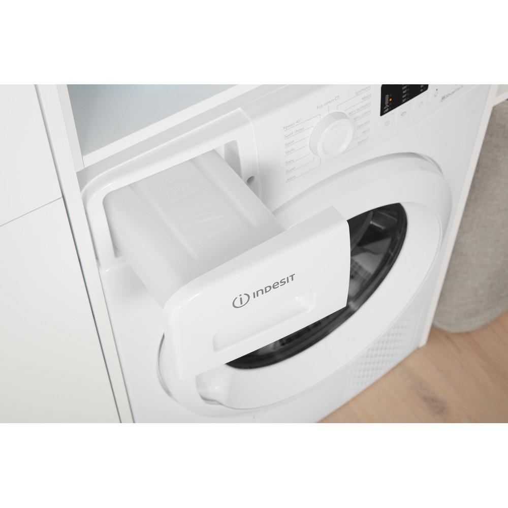 Indesit Dryer YT M10 71 R UK White Drawer