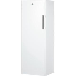 Indesit brīvi stāvošā vertikālā saldētava: balta krāsa
