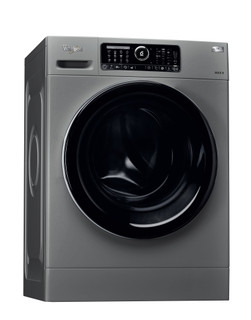 Lave-linge hublot posable Whirlpool: 8 kg - FSCM 90430 SL
