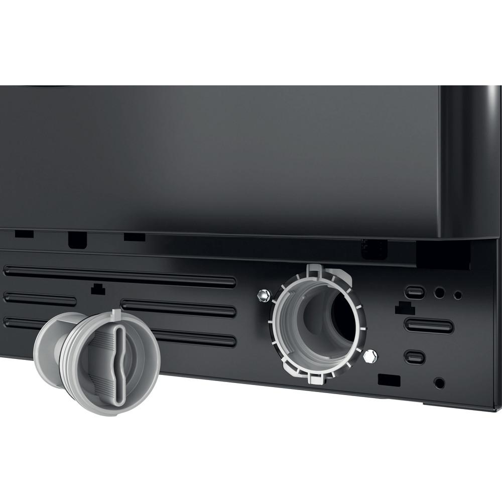 Indesit Washer dryer Free-standing BDE 861483X K UK N Black Front loader Filter