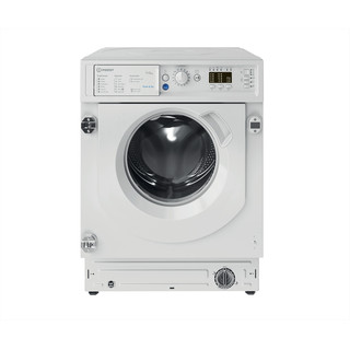 Indesit Washer dryer Built-in BI WDIL 75125 UK N White Front loader Frontal