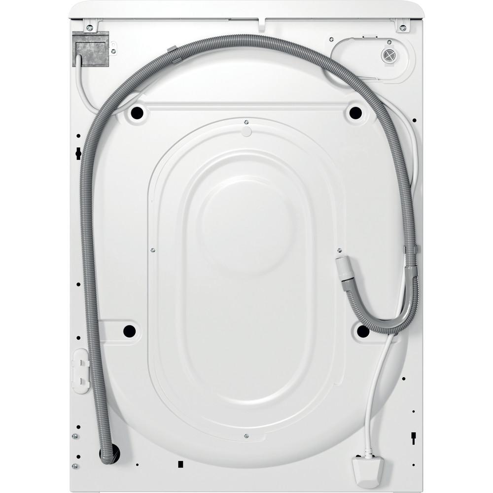 Indesit Waschmaschine Freistehend MTWA 61482E W DE Weiß Frontlader D Back / Lateral