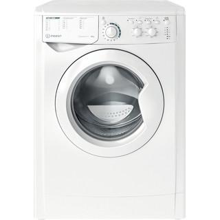 Indesit Перална машина Свободностоящи EWC 81483 W EU N Бял Предно зареждане A+++ Frontal