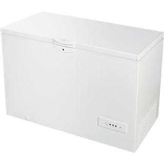Indesit Congelador Livre Instalação OS 1A 450 H Branco Perspective