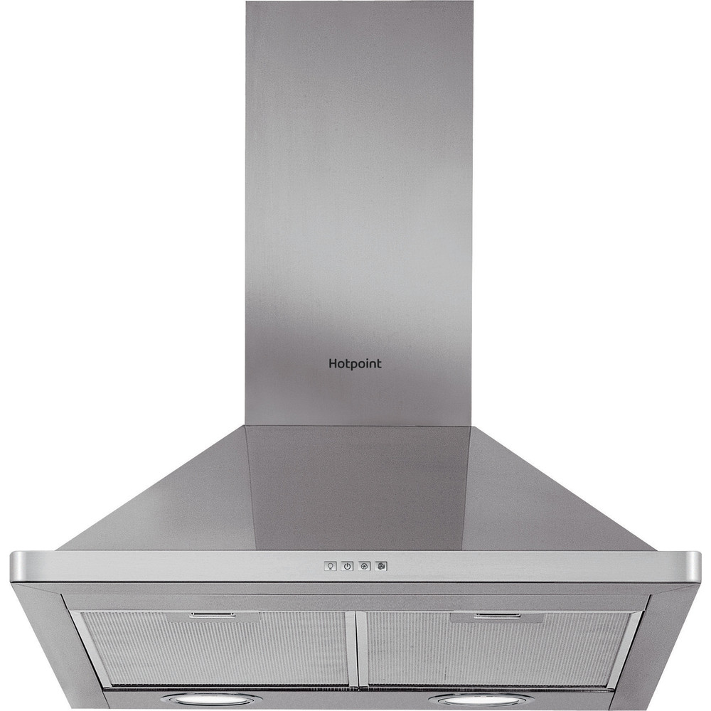 Hotpoint HOOD Built-in PHPN7.5FLMX Inox Wall-mounted Mechanical Frontal