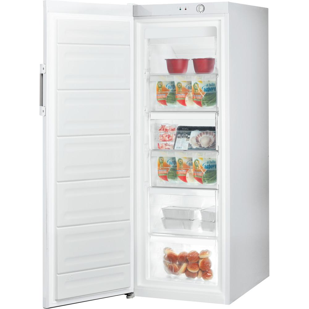 Indesit Congelador Libre instalación UI6 1 W.1 Blanco global Perspective open