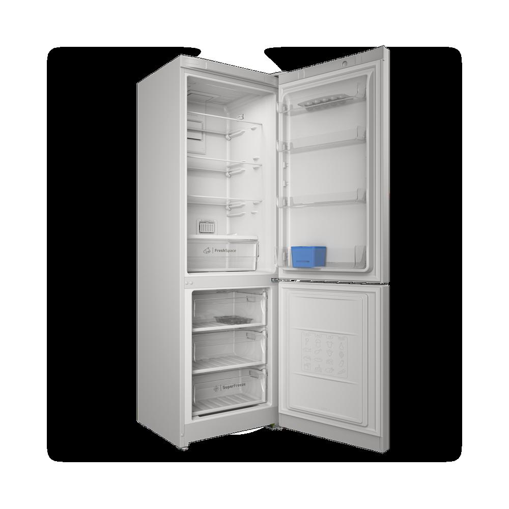 Indesit Холодильник с морозильной камерой Отдельностоящий ITS 5180 W Белый 2 doors Perspective open