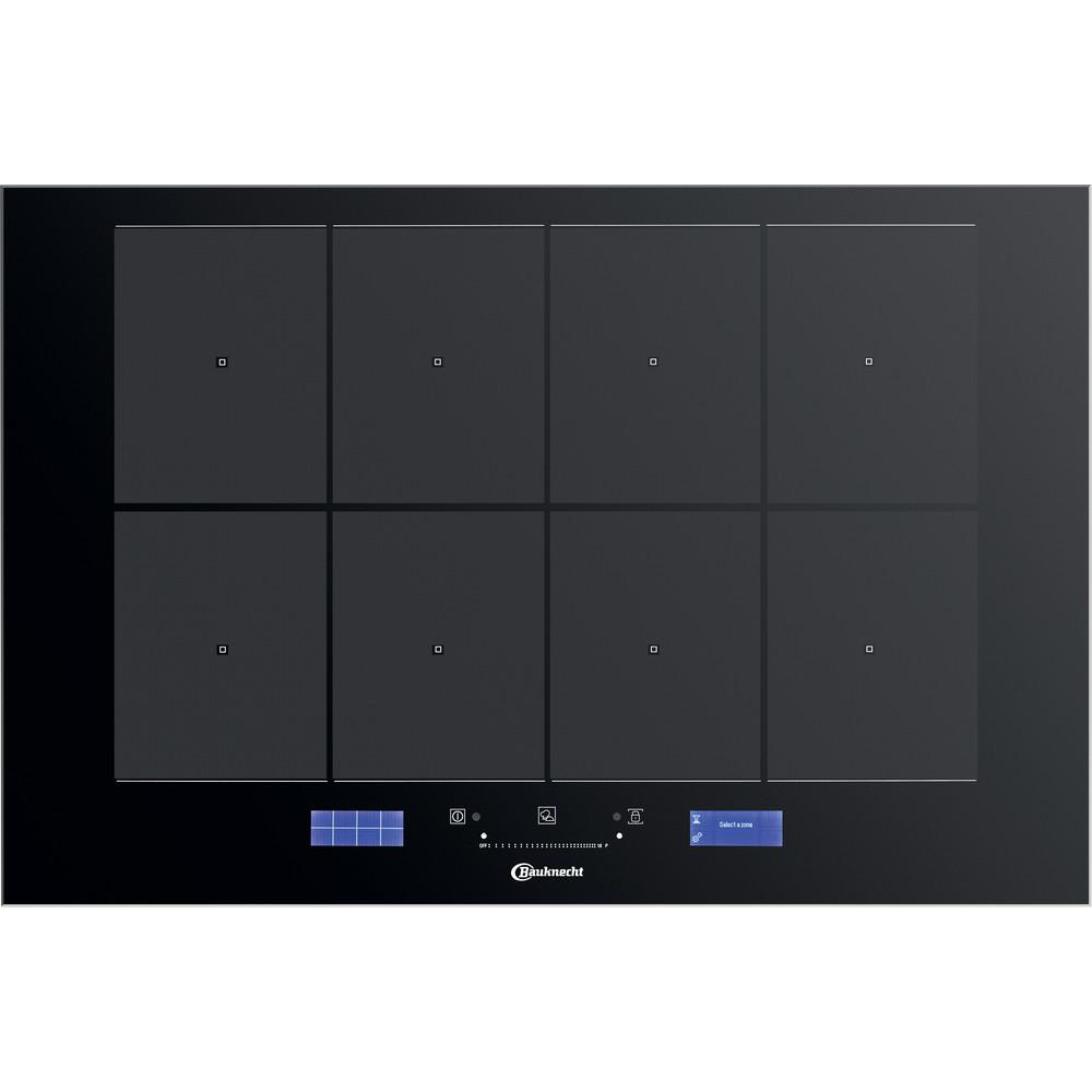 Bauknecht Table de cuisson CTAC 8780AFS AL Noir Induction vitroceramic Frontal