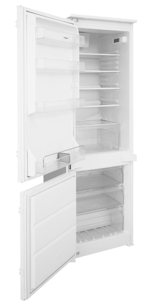 Whirlpool Fridge-Freezer Combination Built-in ART 201/63A+/NF.1 White 2 doors Perspective open