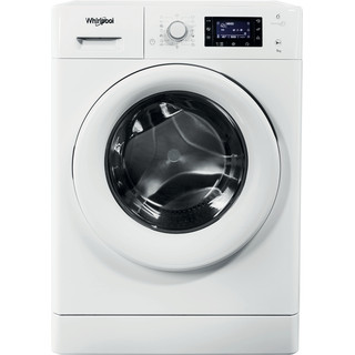 Whirlpool freestanding front loading washing machine: 9kg - FWD91496W UK