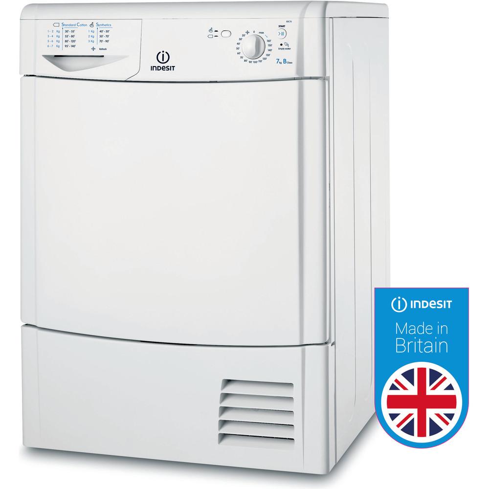 Indesit Dryer IDC 75 B (UK) White Award