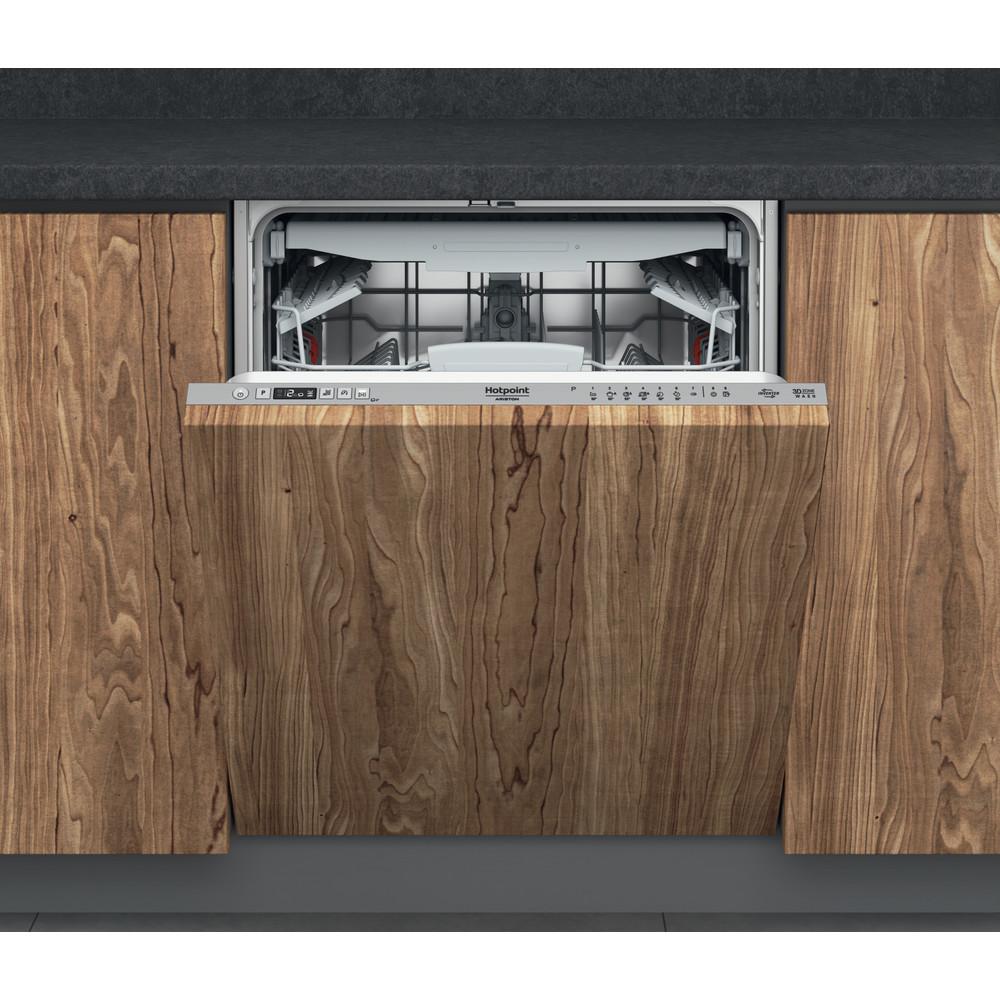Hotpoint_Ariston Посудомоечная машина Встраиваемая HI 5020 WEF Full-integrated A Frontal