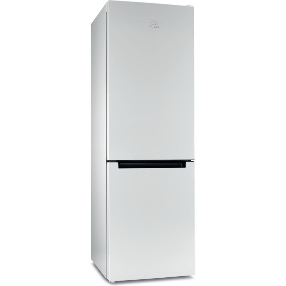 Indesit Холодильник с морозильной камерой Отдельностоящий DS 4180 W Белый 2 doors Perspective