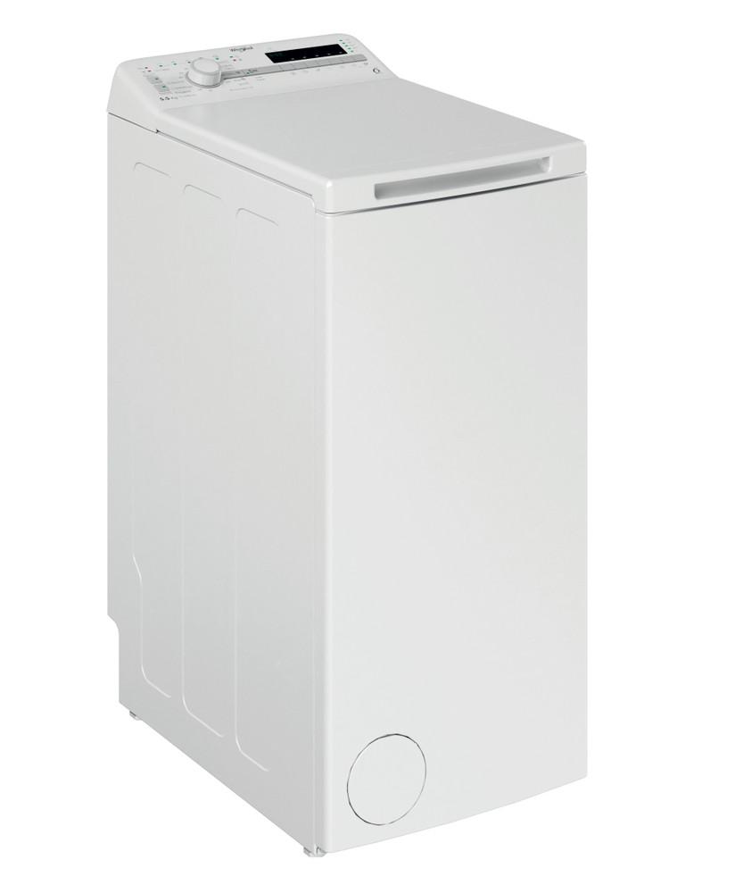 Whirlpool Washing machine Samostojni TDLR 55020S EU/N Bela Top loader E Perspective