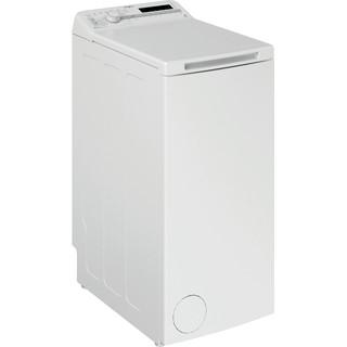 Whirlpool Perilica za rublje Samostojeći TDLR 55020S EU/N Bijela Gornje punjenje E Perspective