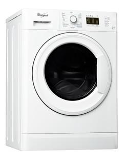 Whirlpool freestanding washer dryer: 7kg - WWDE 7512