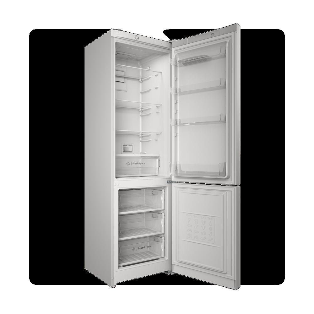 Indesit Холодильник с морозильной камерой Отдельностоящий ITS 4200 W Белый 2 doors Perspective open
