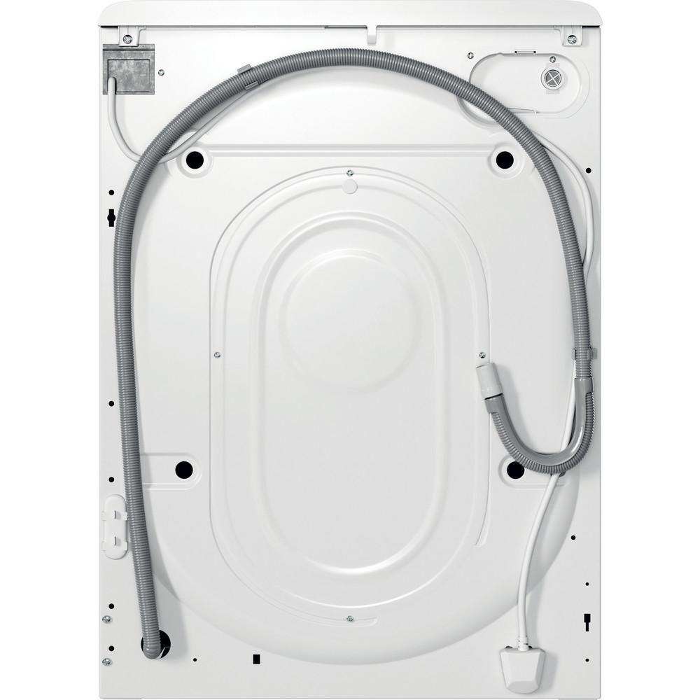 Indsit Maşină de spălat rufe Independent MTWSA 61252 WK EE Alb Încărcare frontală A +++ Back / Lateral