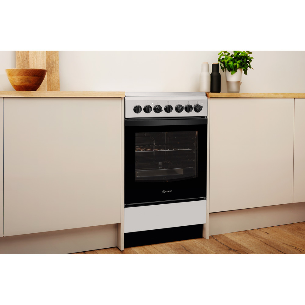 Indesit Плита IS5V4PHX/RU Inox Electrical Lifestyle perspective